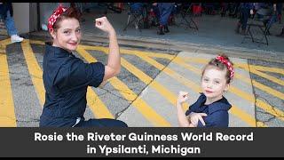 Rosie the Riveter Guinness World Record - Ypsilanti, MI