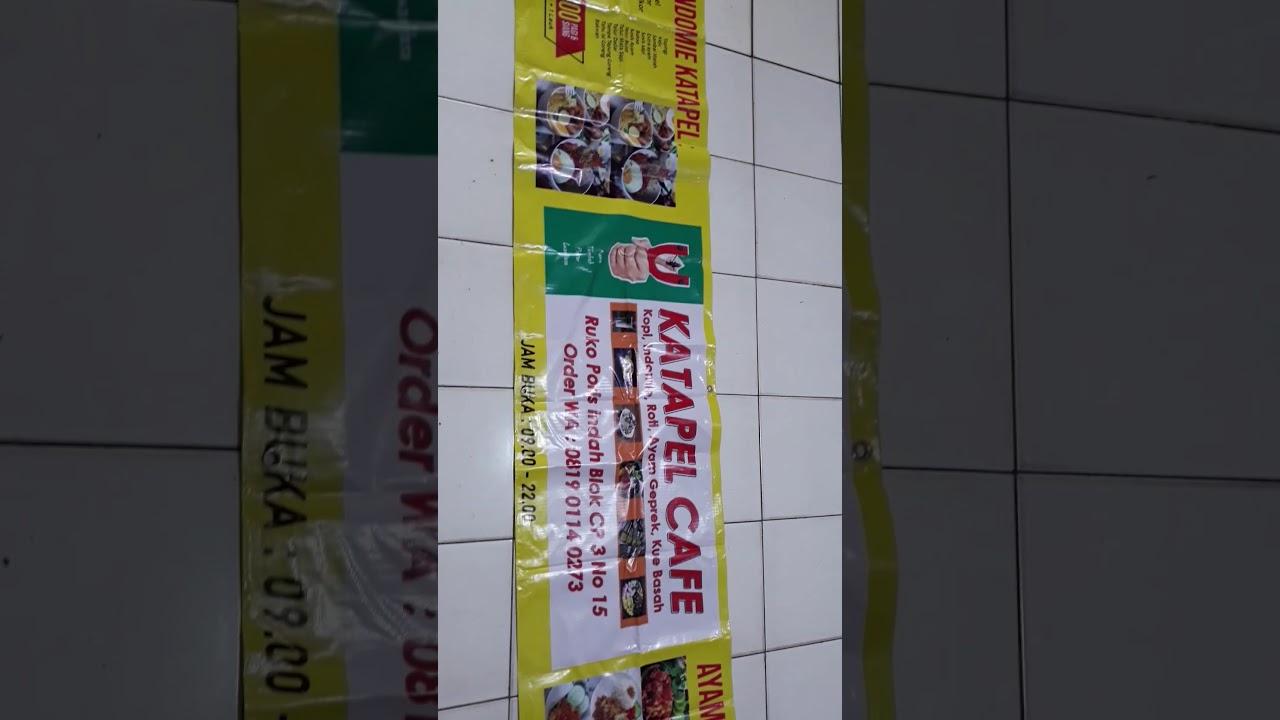 Spanduk Jual Kue Basah - contoh desain spanduk