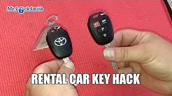 How To Separate Rental Car Keys #1 | Mr. Locksmith Video