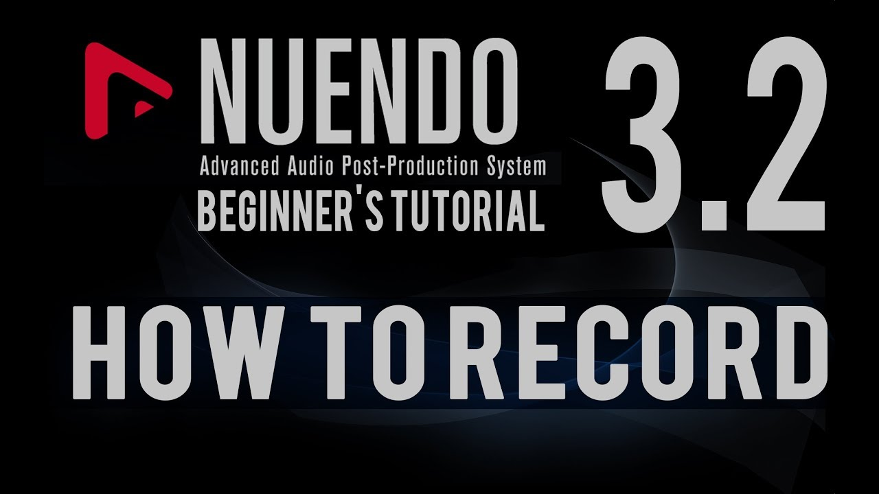 How To Use Record Function In Nuendo 5 Advance Tutorial Hindi 32