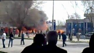 Ташкент: взрывы на автозаправке