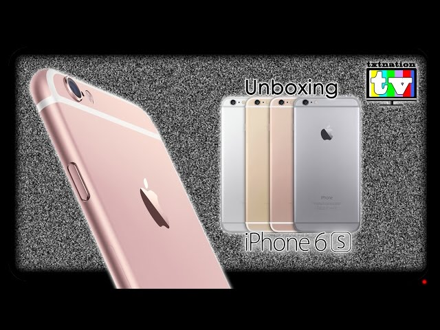 Unboxing iPhone 6S 64GB - Tmobile