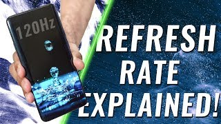 Refresh Rate Explained - 90/120Hz on Smartphones a GIMMICK?