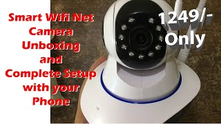 Smart Wifi Net Camera V380 Pro Unboxing and Complete Setup