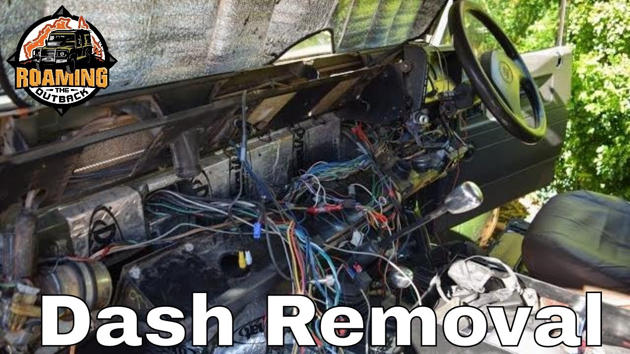 How to remove a Defender dash  YouTube