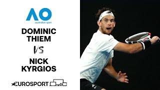 Dominic Thiem v Nick Kyrgios | Australian Open 2021 - Highlights | Tennis | Eurosport