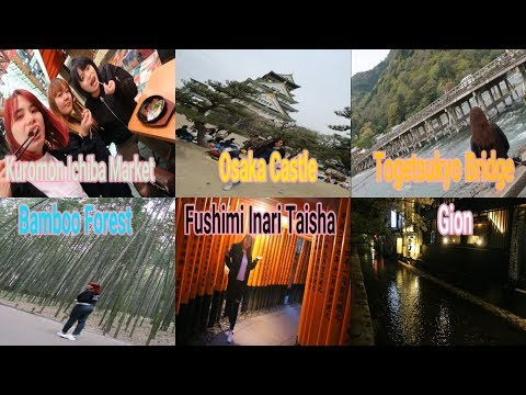 Exploring Osaka and Kyoto, Japan 大阪市 - 京都市 | D-5 F.video