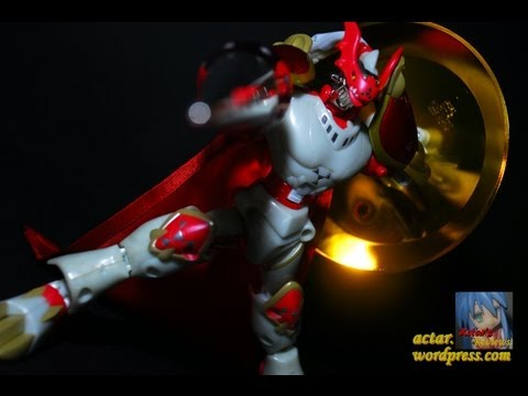AFR - Warp Digivolving Guilmon to Gallantmon (Japanese Version) Figure Review