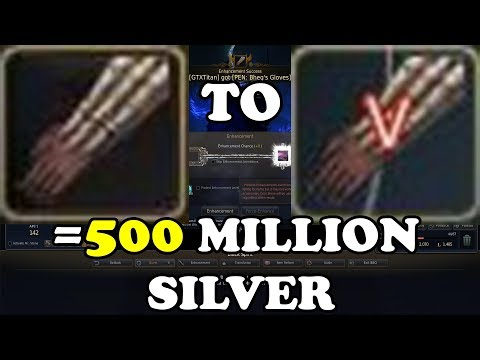 BDO   Bheg's Gloves +0 to PEN Costing ONLY 500 Million Silver