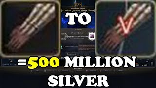 BDO | Dandelion +0 to TRI Costing ONLY 200 Million Silver