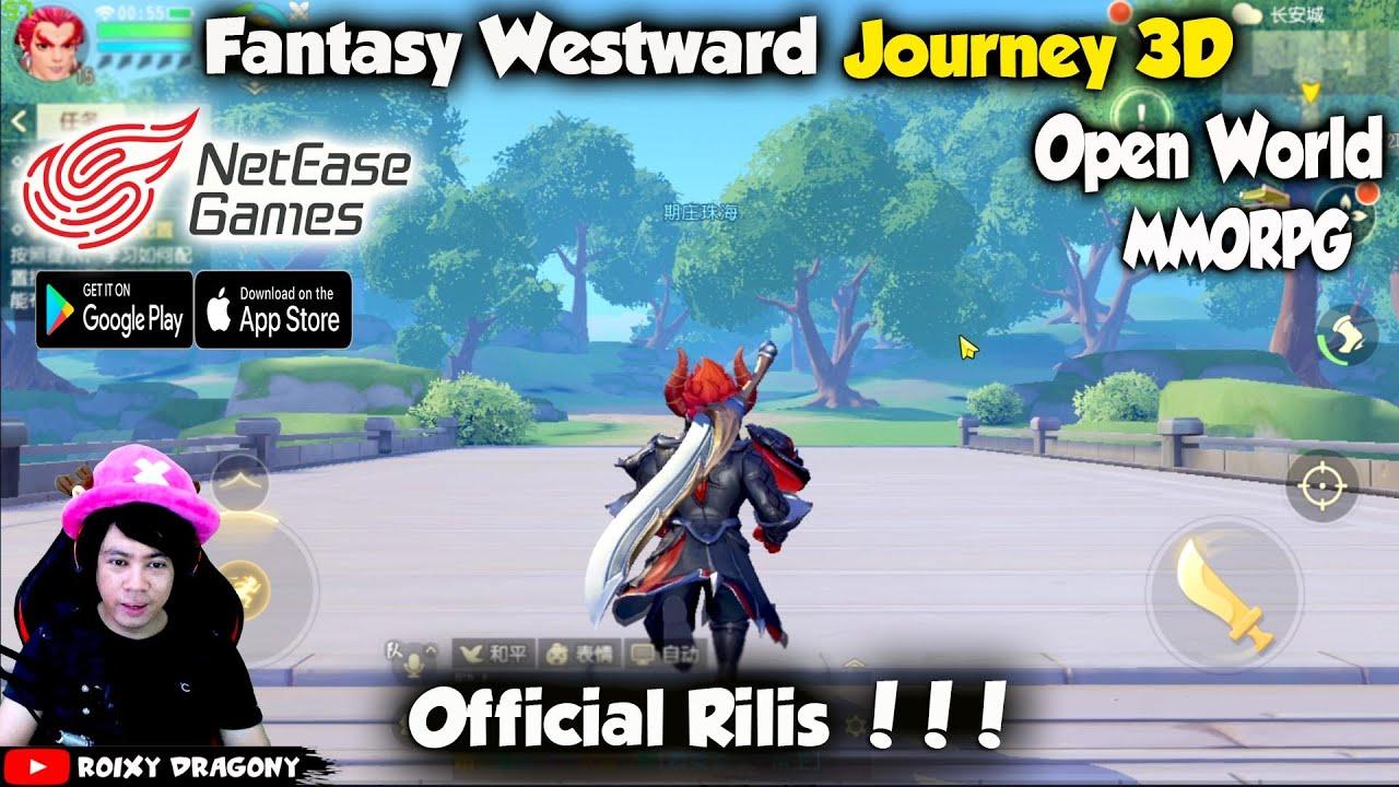 Netease Indah Ban Gamenya Fantasy Westward Journey 3D MMORPG Android