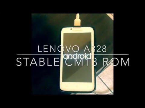 LENOVO A328 | STABLE CM13 ROM ANDROID 6.0.1 MARSHMALLOW | WRITTEN TUTORIAL