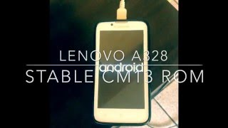 lenovo a328   stable cm13 rom android 6 0 1 marshmallow   written tutorial