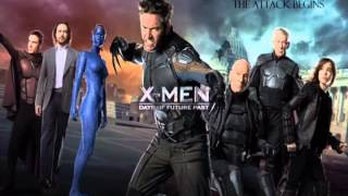 16 The attack begins X MEN DOFP Soundtrack