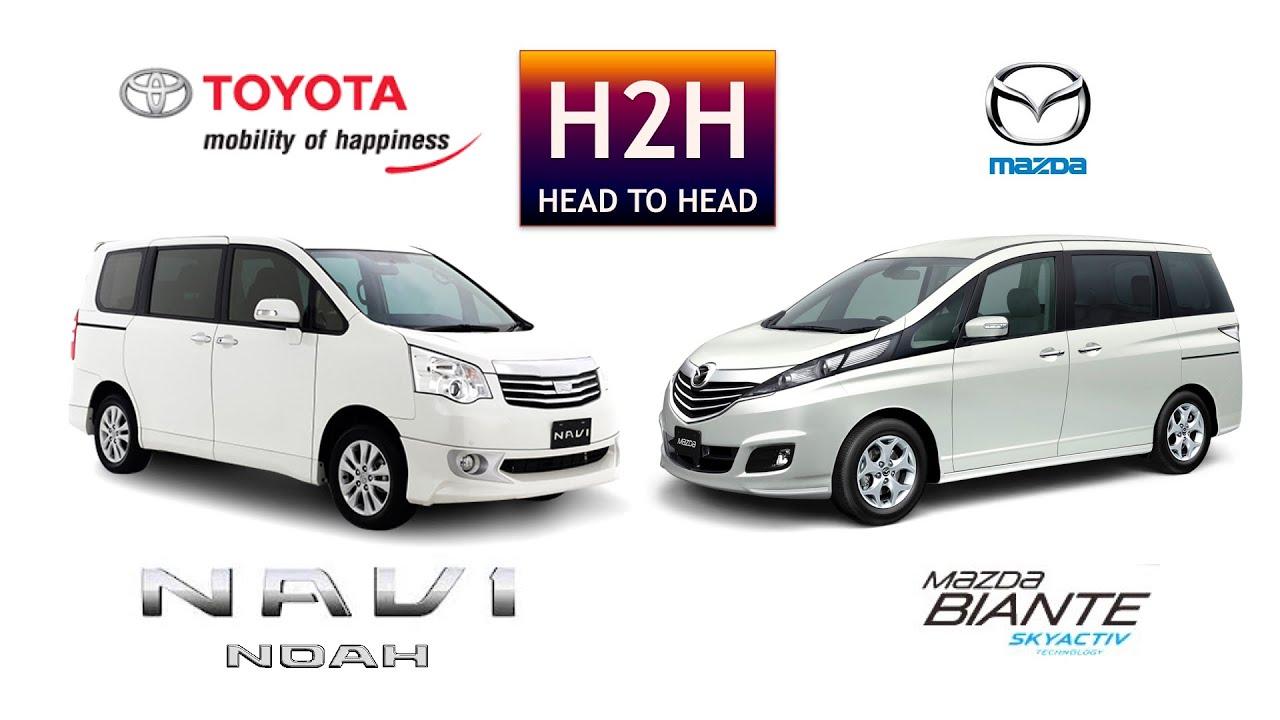 H2H #75 Mazda BIANTE Vs Toyota NAV1/NOAH