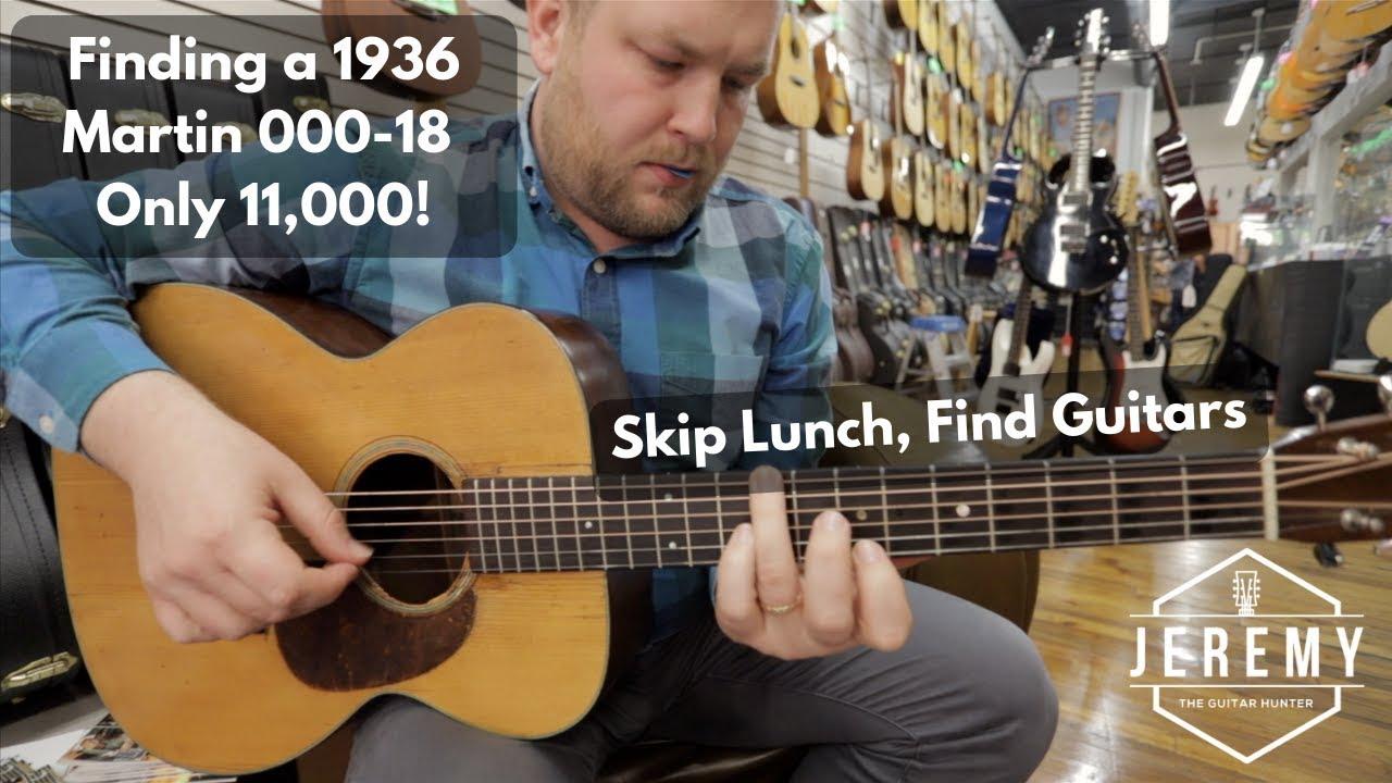 Finding a 1936 Martin 000-18 in Roanoke, Virginia for $11,000!