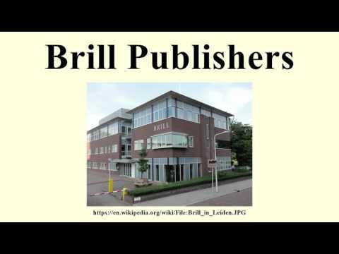 Brill Publishers