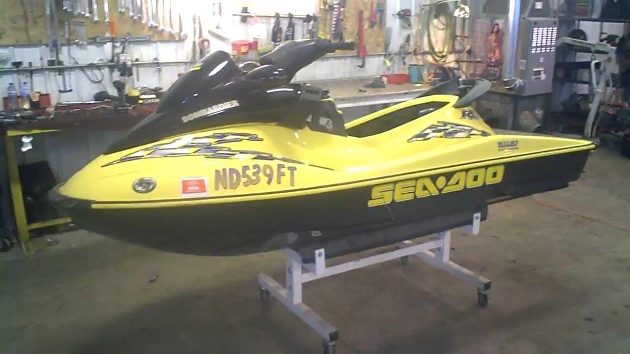 Ski Doo Jet Ski >> 2002 Sea Doo RXDI 951 DI Jet Ski LOT 1141A - YouTube