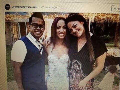 Sasha Banks Wedding.Breaking News Sasha Banks Gets Married