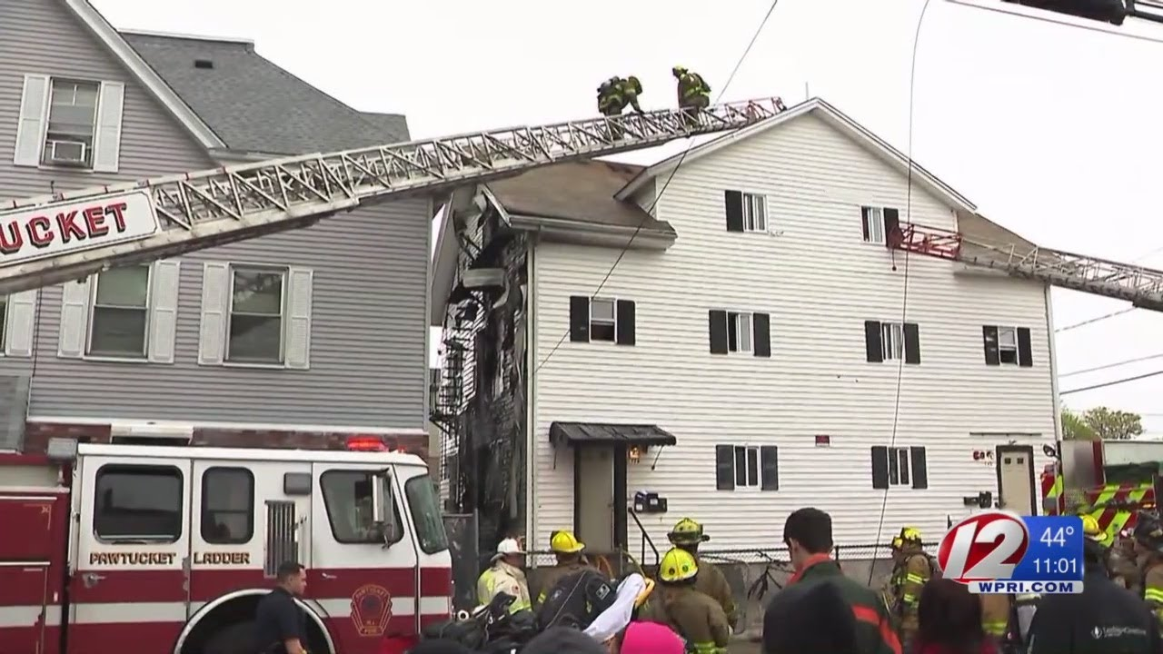 Red Cross helping helping six families after house fire in