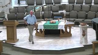 Traditional Service - Who is Jesus? Week 3 - Jesus heals us: July 25, 2021