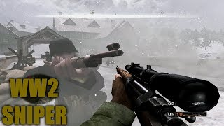 Commandos Strike Force Gameplay: The WW2 Sniper