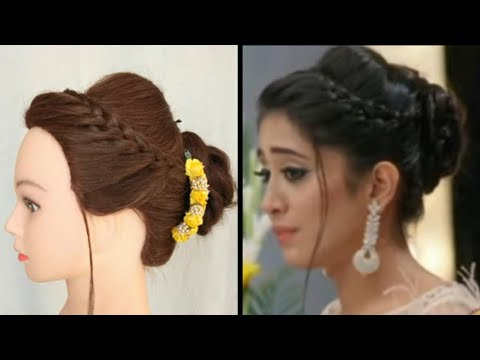EASY HAIRSTYLE FOR WEDDING \ PARTY \ CERECONY INSPIRED BY NAIRA \\ AWESOME PARTY HAIRSTYLE FOR GIRLS thumbnail