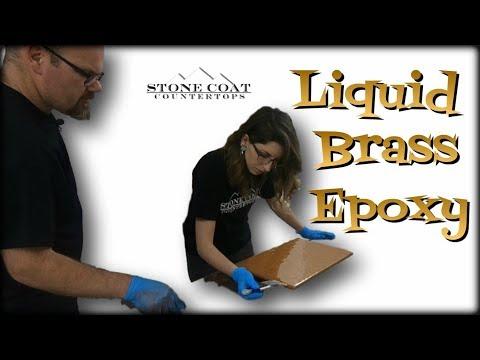 Liquid Brass Epoxy