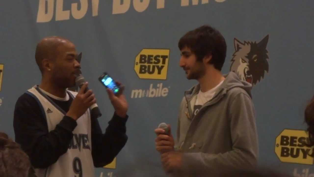 Ricky Rubio Answers Question About Possible Girlfriend ...  Ricky Rubio Ans...