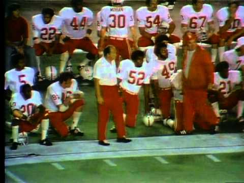 1973 Orange Bowl Nebraska Vs ND 1st Half Highlights