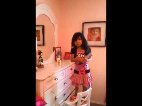 Hairstyle Tutorial By 5 Year Old Little Girl How To Comb