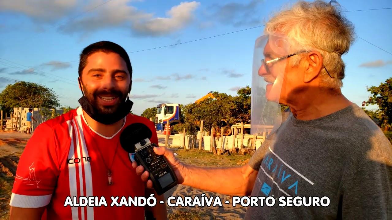 Comunidade mobilizada contra lixo da Aldeia Xandó - Caraíva - Porto Seguro