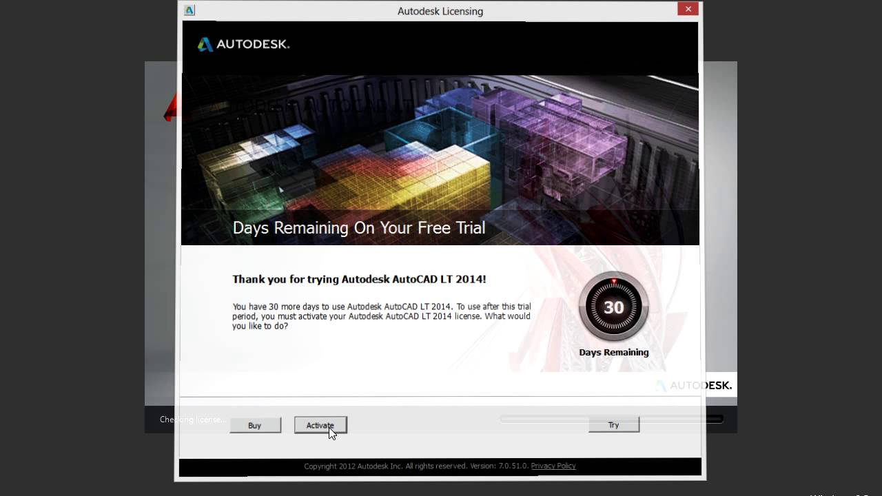 autocad 2012 with keygen free download