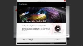 activation and registration of autocad 2014