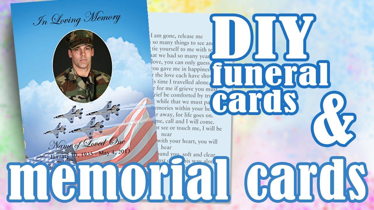 Memorial Cards  No Fold 21up Flat Card Templates With Regard To Memorial Card Template Word