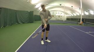 Steps to Generate Topspin in Tennis