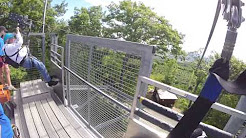Ziplining At Blue Mountain, Ontario