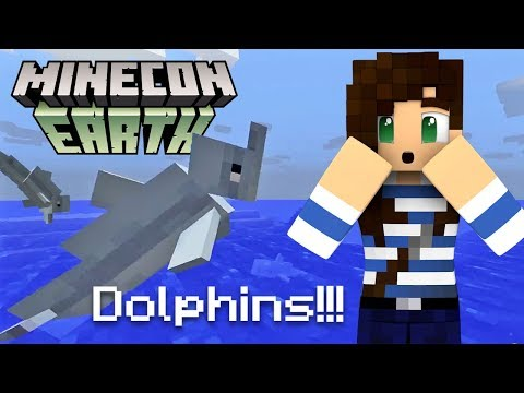 Dolphins Coming To Minecraft! (PE, Java, XBox, PlayStation) - Stacy