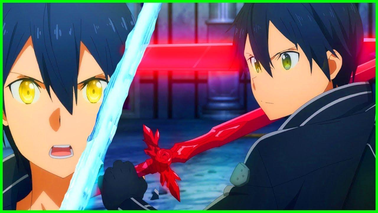 Dual Blade Kirito & God Mode RETURN! Stay Cool Kirito   Sword Art Online  Alicization Episode 24