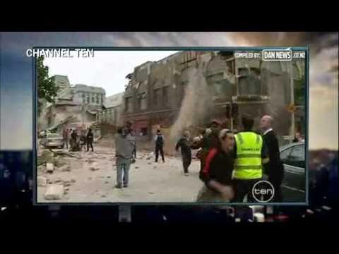 Christchurch Earthquake News Coverage