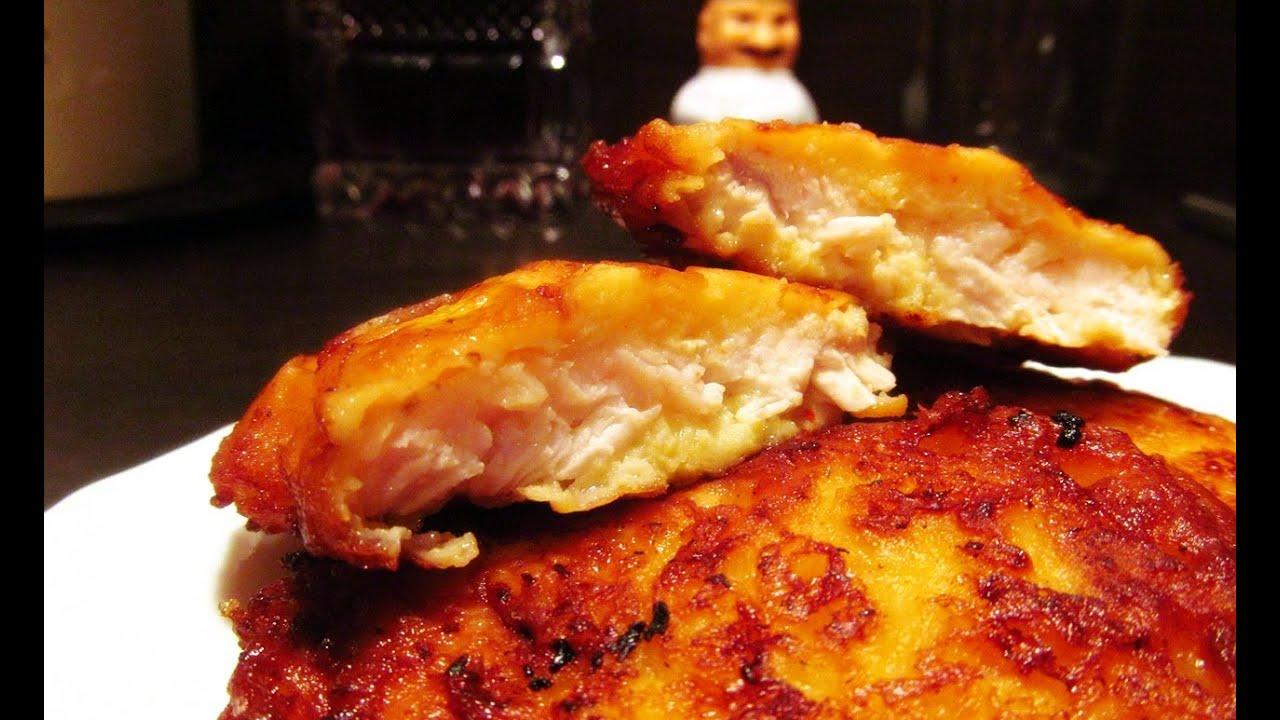 куриная отбивная в кляре с сыром рецепт с фото