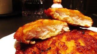 Как приготовить куриные отбивные, нежные и сочные в сырном кляре
