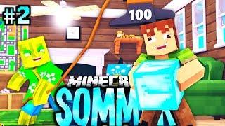 Die 100.000KG TODESFALLE?! - Minecraft SOMMER #02 [Deutsch/HD]