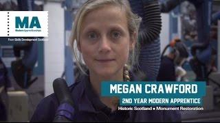 Historic Scotland Modern Apprenticeships, stonemasonry