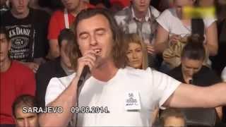 Amil Bišćanin - Audicija za Zvezde Granda - Sarajevo 09.06.2014