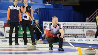 HIGHLIGHTS:Netherlands v Canada - Ford World Men's Curling Championship 2017