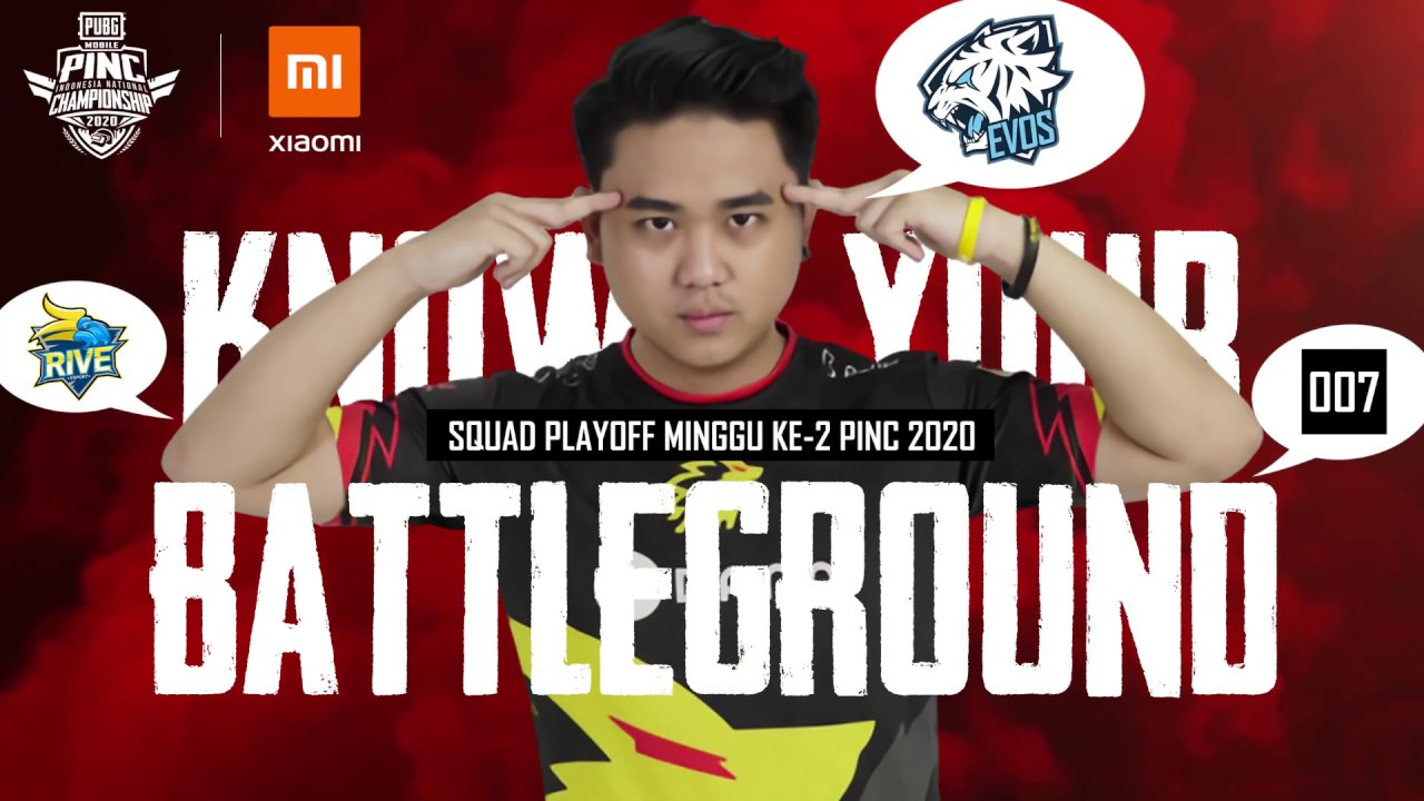 Know Your Battleground | PINC 2020 Squad Playoff Minggu Ke-2 by ONIC Matthew