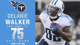 #75: Delanie Walker (TE, Titans) | Top 100 Players of 2017 | NFL