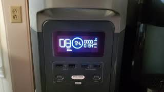 Ecoflow Delta 1300 output test