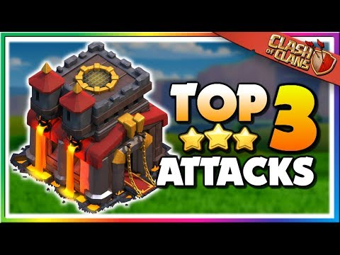 TOP 3 BEST TH10 Attack Strategies For 3 STARS | Clash Of Clans